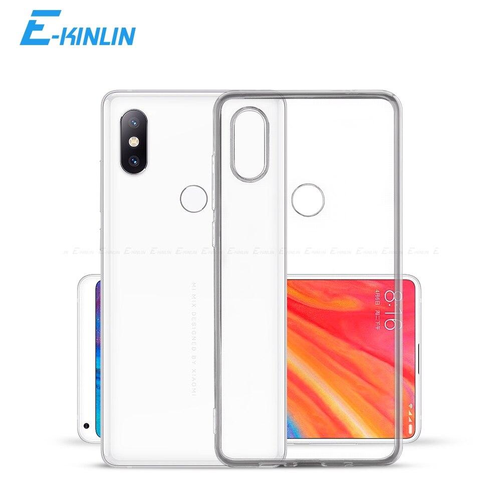 Clear Soft Back Full Cover For Redmi 10X 4G K30 5G K20 Xiaomi Mi Mix Max 5C 5S Plus Note 5A 4 4X 2 2S 3 Pro Y3 Y2 TPU Phone Case