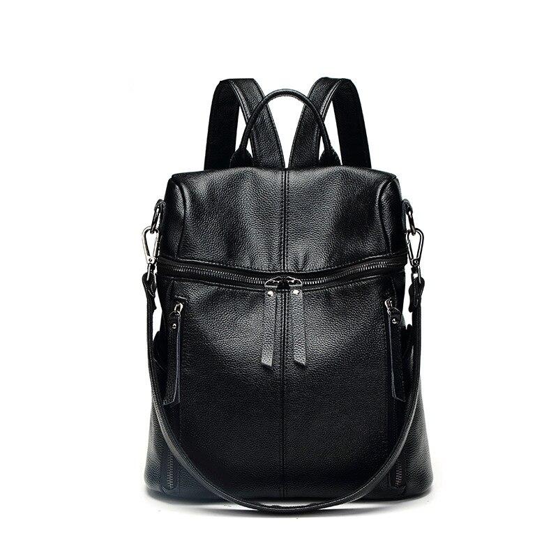 Sac à dos rétro femmes sac en cuir femmes sac à dos moyen femmes Mochila Feminina sacs d'école pour adolescents sacs à dos marque C603
