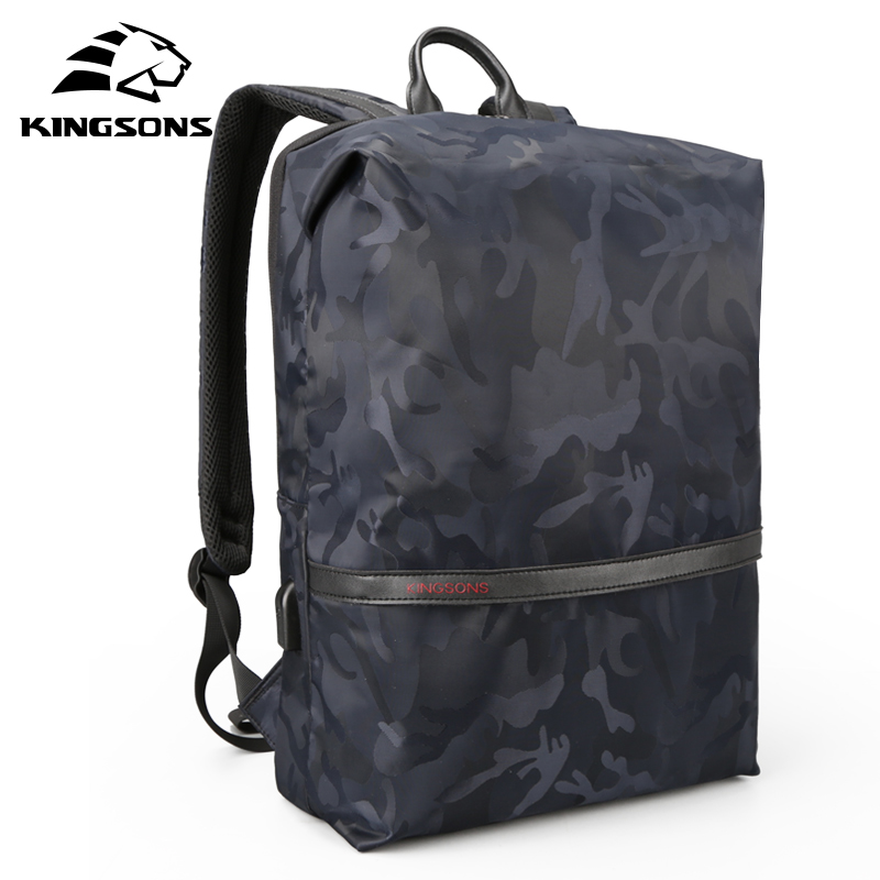 Kingsons Unisex Portable Large Capacity Laptop Backpack Women Student Double Shoulder Bags Water Repellent Bag for Boy and GirlKingsons Unisex Portable Large Capacity Laptop Backpack Women Student Double Shoulder Bags Water Repellent Bag for Boy and Girl