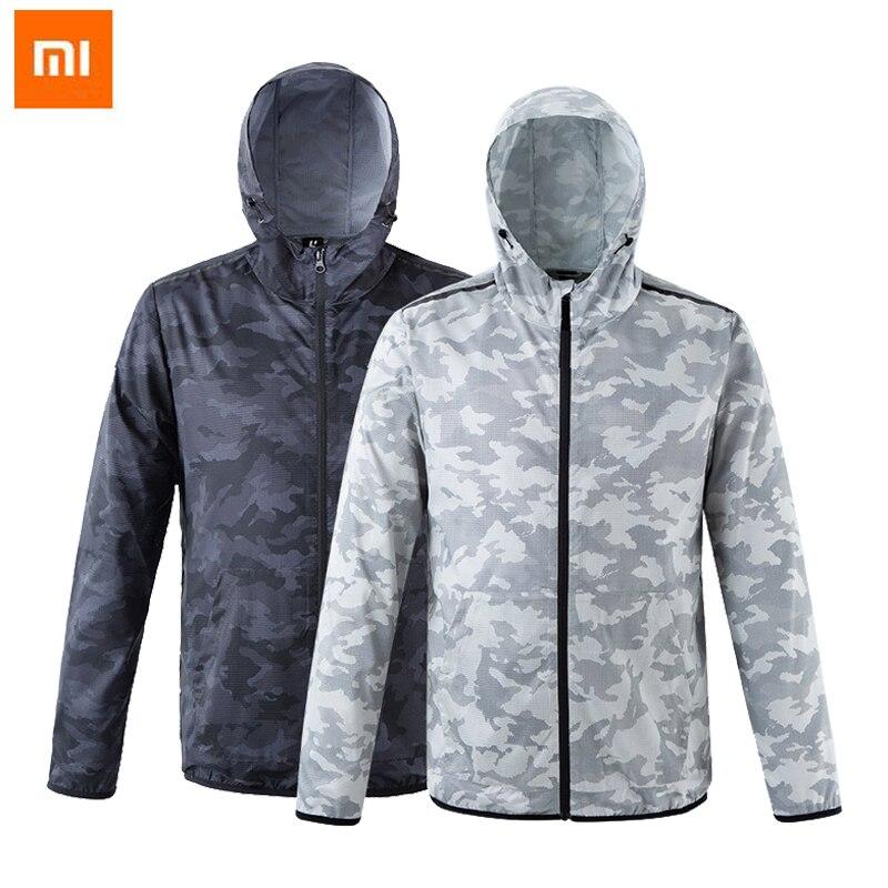 Nouveau Xiaomi ulehelm crème solaire vêtements mode Camouflage Couple modèles coupe vent à séchage rapide vestes sport trench coat-in Télécommande connectée from Electronique    1