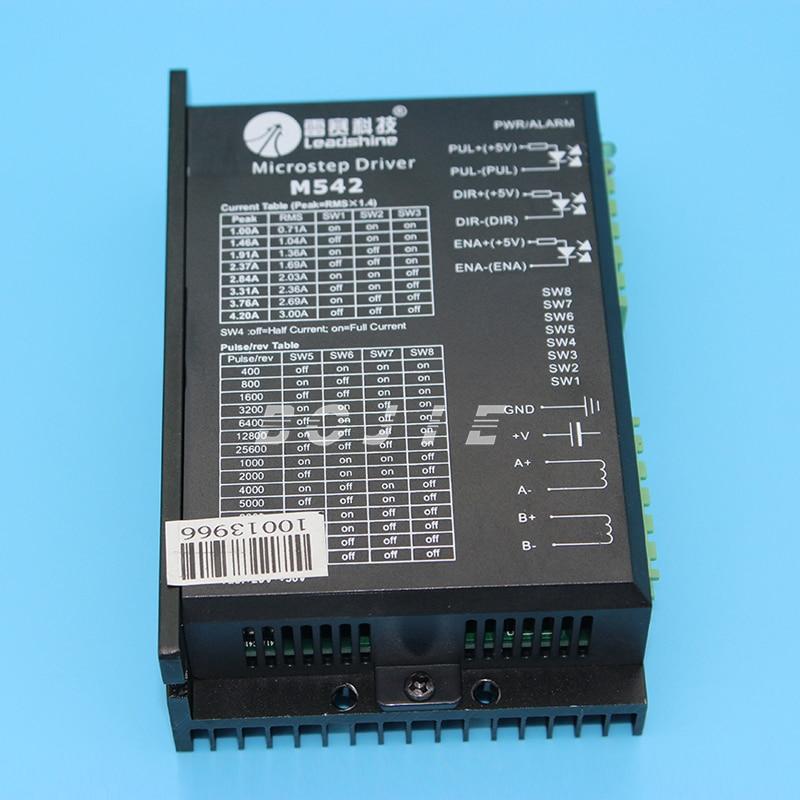 цена m542 stepper motor driver for Zhongye printer