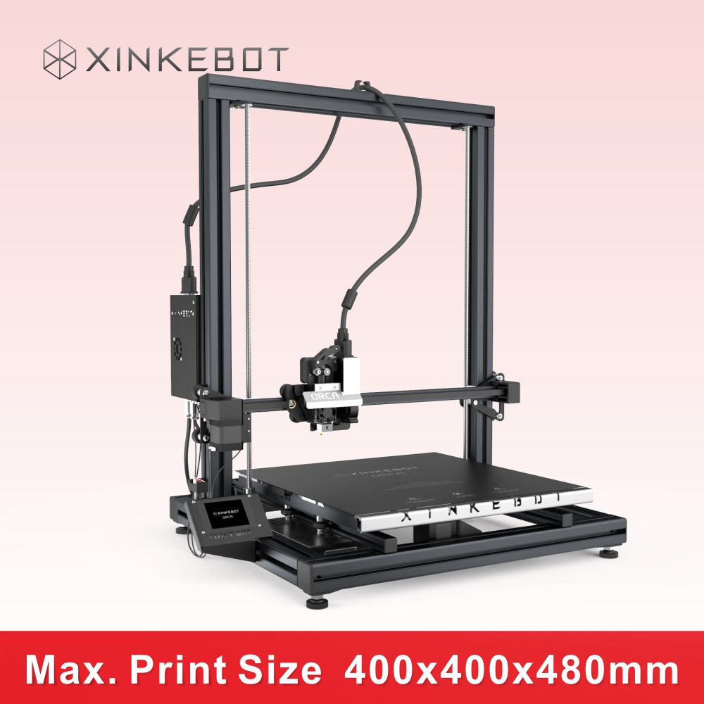 2016 Newest Xinkebot ORCA2 Cygnus dual extruder nozzles 3D Printer Auto bed leveling and full color touch screen