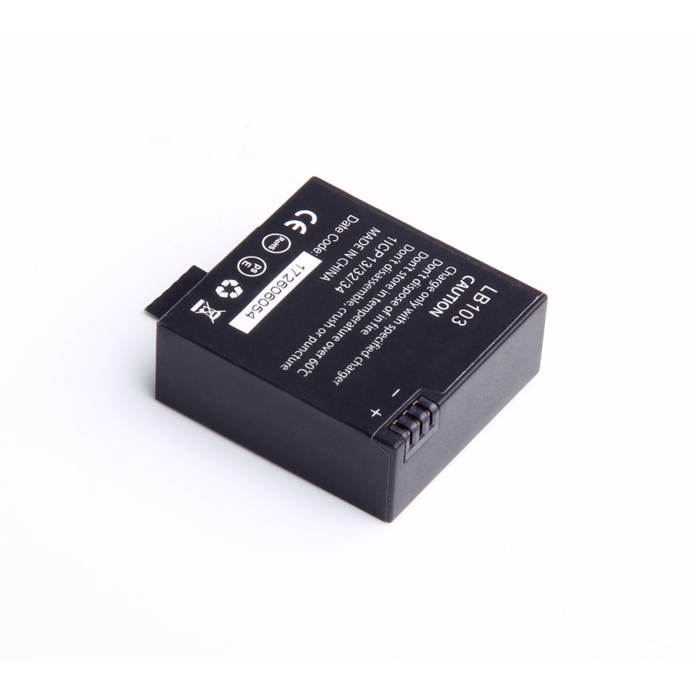 Gitup Original 2 unids/lote reemplazo batería recargable batería de repuesto para Gitup G3 Duo deporte acción accesorios de cámara