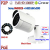 POE HD 1080P Bullet Security Cctv Ip Camera Surveillance Free Phone View IR CUT 3 6mm