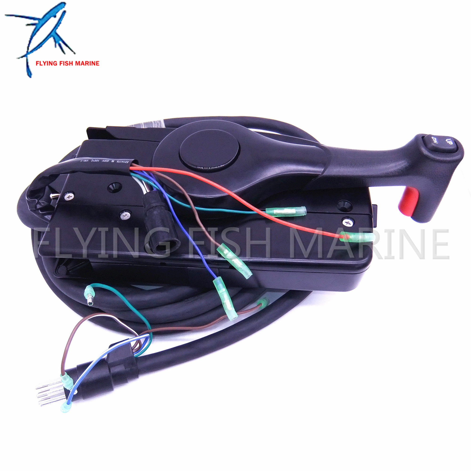 14-Pin Right Side Mercury Outboard Engine Mount Remote Control Box W//5m Harness