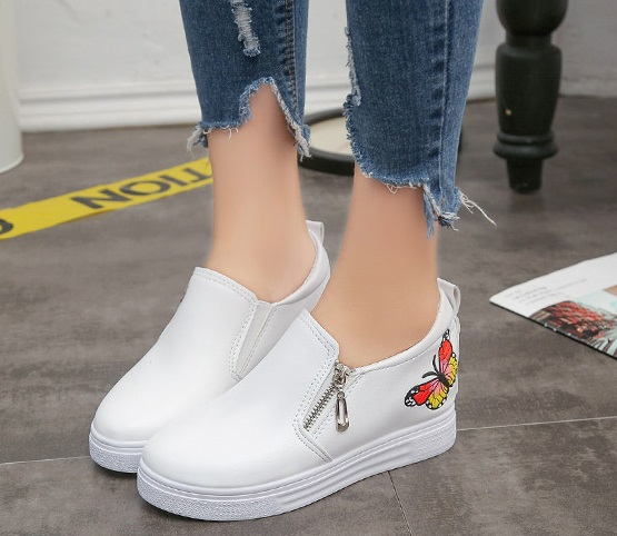 2019Women Sneakers Autumn Fashion Casual Shoes Woman Comfortable Breathable Flats Female Platform Sneakers Femme