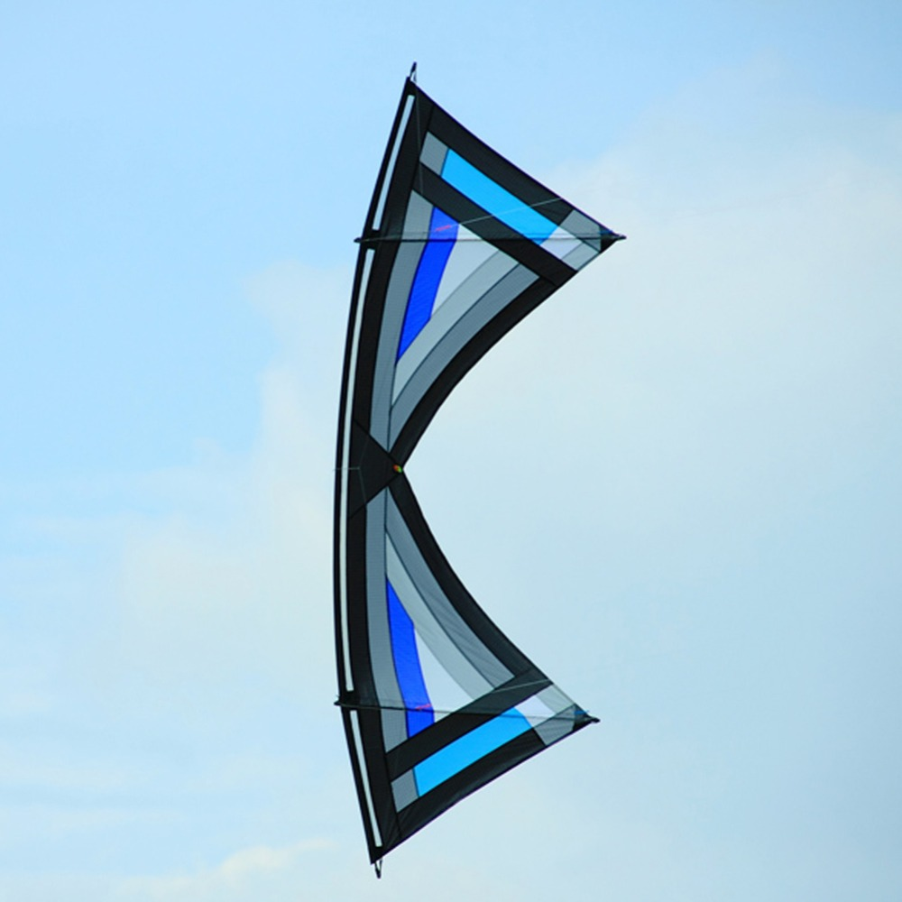 Outdoor Toys Kite 2.4m Traction Power Stunt Kite Quad Line Sport Kite With Kite Flying Handle 16 colors x vented outdoor playing quad line stunt kite 4 lines beach flying sport kite with 25m line 2pcs handles
