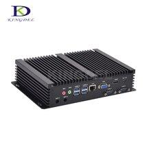 Новая модель Fanless PC HTPC Intel Core i3 4010U/5005U i3/i5 4200U/i7 5550U Dual Core HDMI WIFI VGA 2 * COM rs232 Мини-промышленной PC