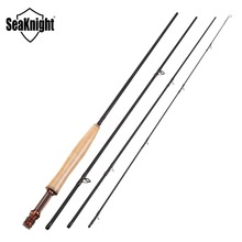 SeaKnight MAXWAY HONOR 5/6# 2.7M Fly Fishing Rod Hard Carbon Rod 4 Sections Super Light 97g Fly Rod Fast Action Fishing Tackle