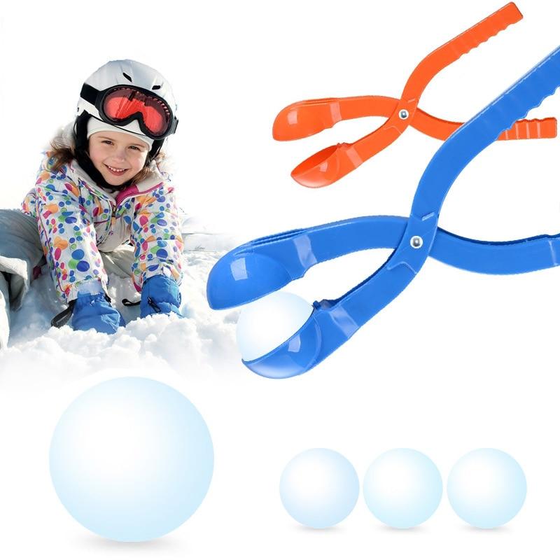 1Pc Winter Snowball Maker Sand Mold Tool Sculpt Snowballs Lightweight Compact Snowball Fight Outdoor Sport Tool Toy Sports