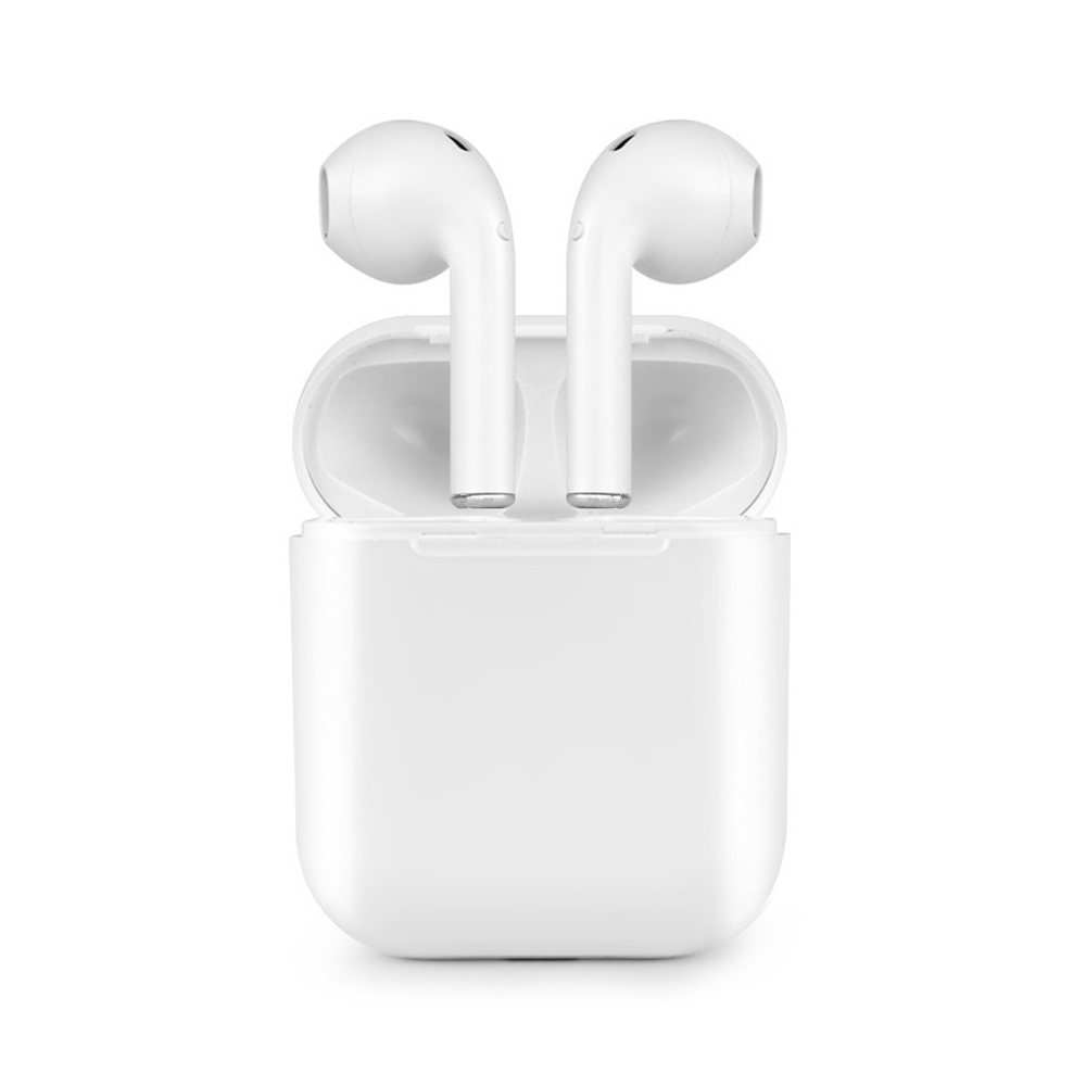 I9 TWS auriculares Bluetooth inalámbrico auriculares estéreo bajo auriculares del auricular para el teléfono con 600 mA magnético Charing caja VS i7S