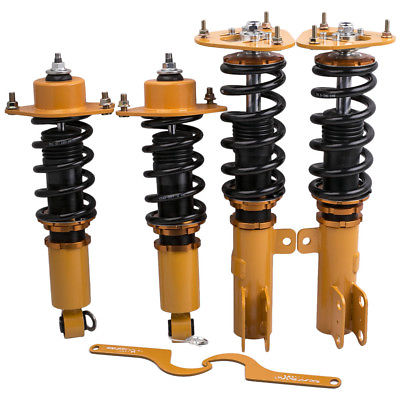 Coilovers Suspension Kit For Toyota Corolla 2009 2010 2013 2014 2016 2017 E140 Adj Height Shocks Absorber Struts 2pc new rear left and right pair shocks struts absorber for isuzu npr 1986 2016 all nqr 2000 2016 all oem 66618 suspension car