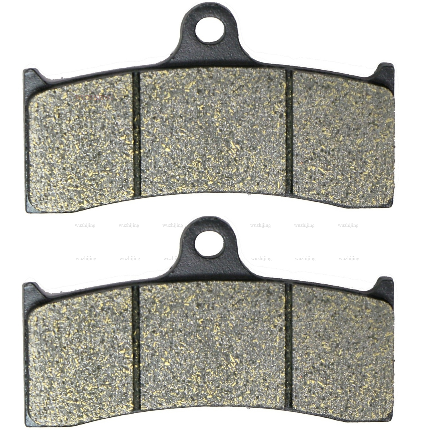 Brake Pads Set for AMERICAN IRON HORSE 6 piston 02 BEHRINGER 6 piston HHI Hawg Halters 6 ...
