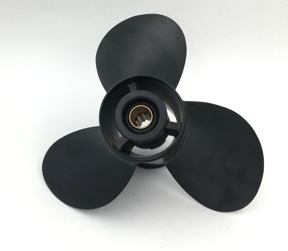 10,25x12 Para Hélices Brp De 15 Hp-35hp Hélices De Aluminio 14 Hélices De Barco Marino