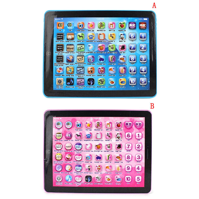 English Education Tablet Toy Gift For Kid Change language Children