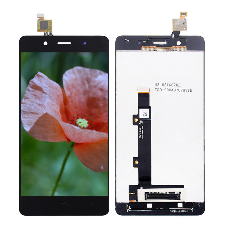 For BQ Aquaris X5 Plus Touch Screen Digitizer LCD Display Assembly Black White Free Shipping + Tools