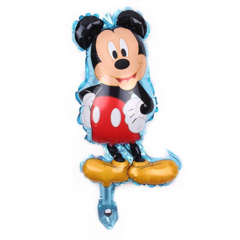 Все манеры Микки Минни воздушные шары на день рождения надувные декорации для вечеринки воздушные шары Детские Классические игрушки мультфильм шляпа - Цвет: 8