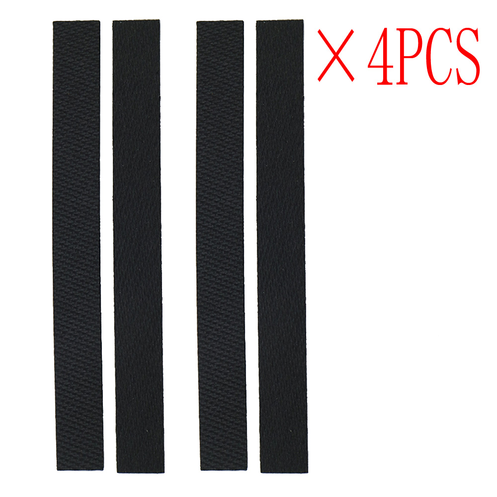 4pcs wheel tire Leather Fetal skin Replacment for iRobot braava 320 380 381 380T 390 390T Mint 4200 4205 5200 5200C