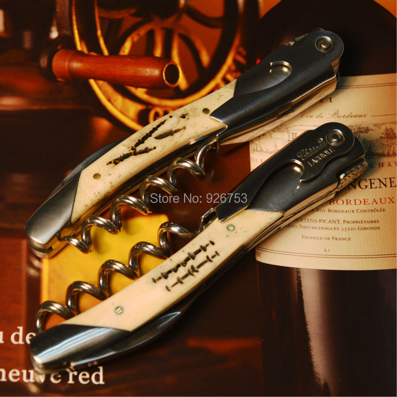 Laguiole Cow Bone Wine Corkscrew Openers Bottle Openors for Wine and Beer Sacacorchos Men's Gift A variety of Optional Packing