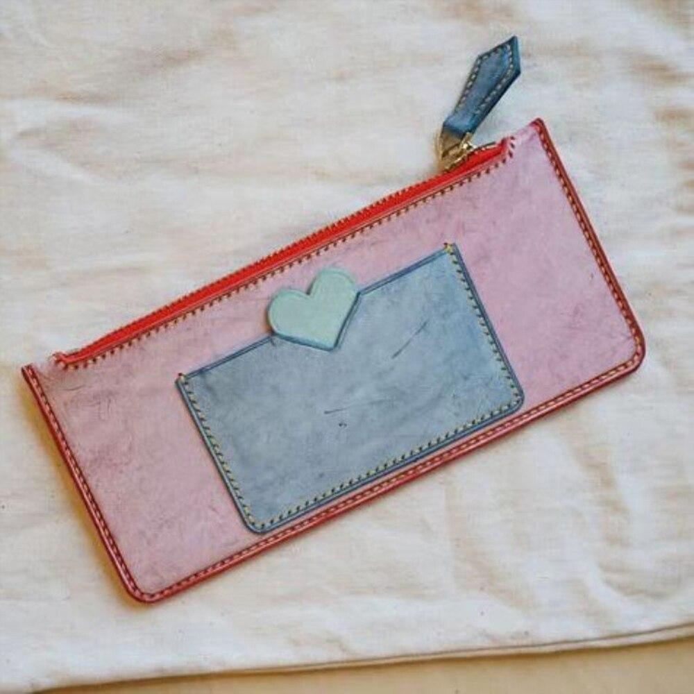 Diy 가죽 공예 여성 귀여운 카드 홀더 지퍼 지갑 다이 커팅 나이프 금형 핸드 머신 펀치 도구-에서펀칭부터 홈 & 가든 의  그룹 1