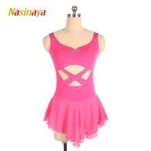Платье для фигурного катания nasinaya юбки конькобежцев по индивидуальному