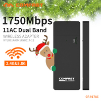 COMFAST 1700M 802 11AC Laptop Dual Band 2 4Ghz 5Ghz USB 3 0 Wireless WiFi AC