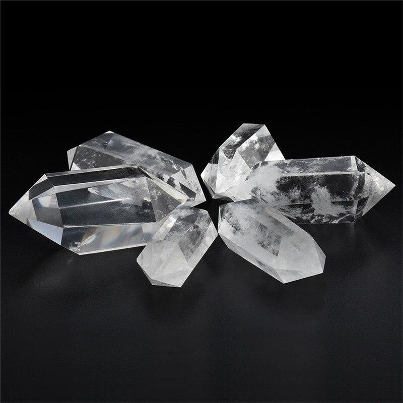 Cristaux de quartz blanc