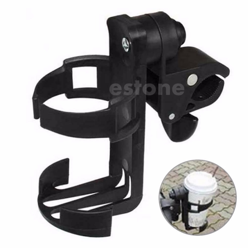New 1Pc Universal Black Baby Stroller Parent console Organizer Cup Holder