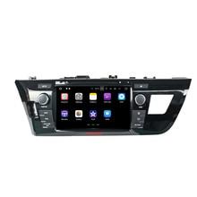 """Klyde 2 DIN 8 """"Android 7.1 Автомобильный Мультимедийный Плеер для Toyota Левин 2014-2015 автомобиля Радио стерео 4 ядра dvd-плеер аудио 1024*600"""