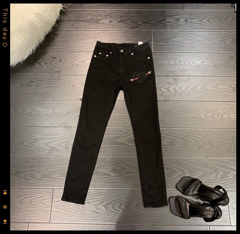 Nouveau Femmes Stretch 2018 Ddxgz3 Jeans Perles Pantalon 4ARjL5