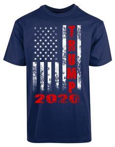 Image 2 - ドナルドトランプ 2020 Tシャツアメリカ国旗 2Nd 改正銃権利メンズ新 T Shirttshirt オム 2019 新ヒップホップストリート Tシャツ