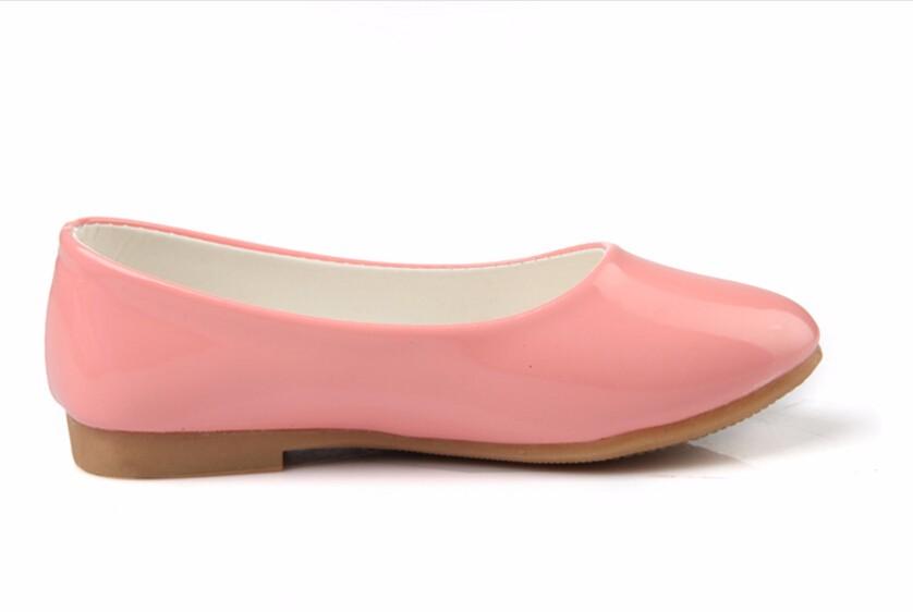 girl leather shoe-43