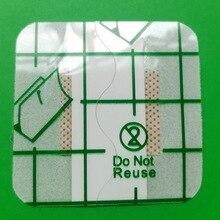10 sztuk 3.8cmX3.8cm hipoalergiczne włókniny samoprzylepny opatrunek na ranę plaster bandaż duże rany pierwszej pomocy na zewnątrz