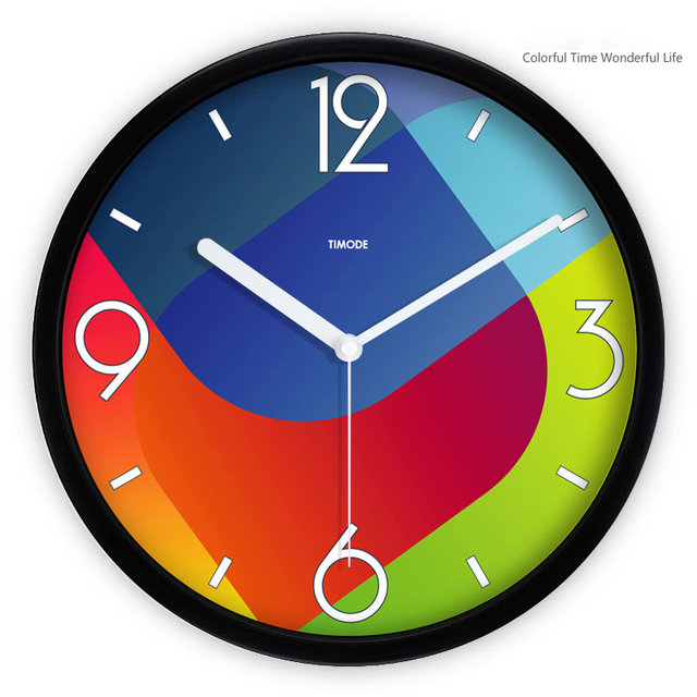 Decorative Metal Wall Clocks Small Quite Clock Designs Orologi Parete Klok Rustic Cheap Black For