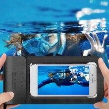 Водонепроницаемый чехол COPOZZ для телефона iPhone X/8/7/6S Plus/Samsung S7, чехлы для подводного плавания, Сноркелинга, катания на лыжах, дайвинга