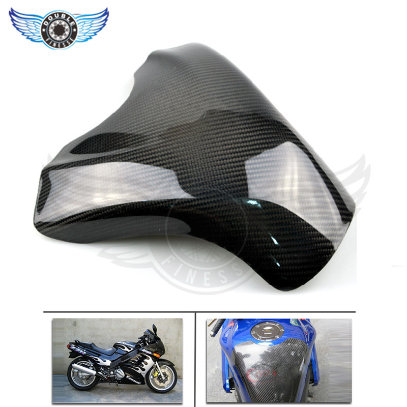 new style motorcycle accessories carbon fiber fuel gas tank protector pad shield rear carbon fiber for suzuki GXSR 600 750 11-13 brand new motorcycle carbon fiber 3d tank pad protector for cbr600rr f5 2003 2006 2004 2005