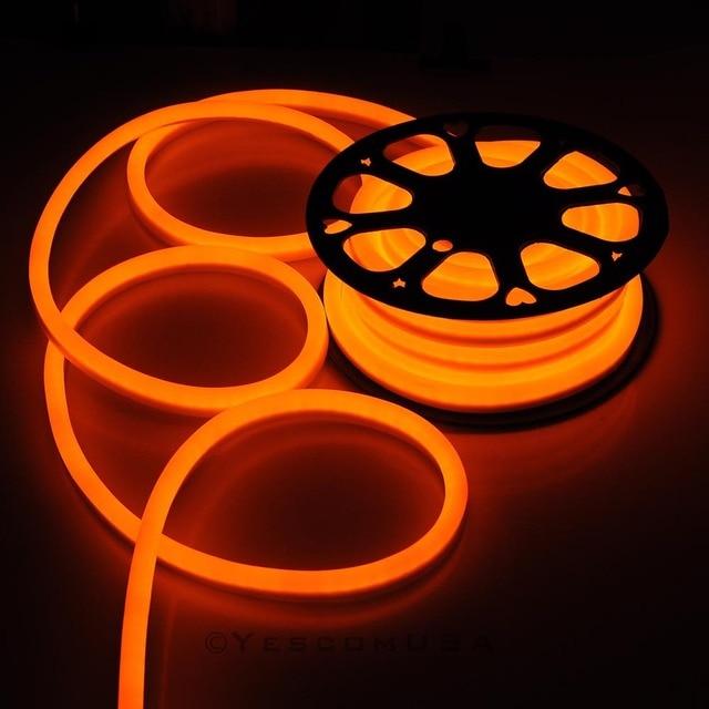 50ft orange led neon rope light holiday valentine party decoration 50ft orange led neon rope light holiday valentine party decoration outdoor flex aloadofball Choice Image