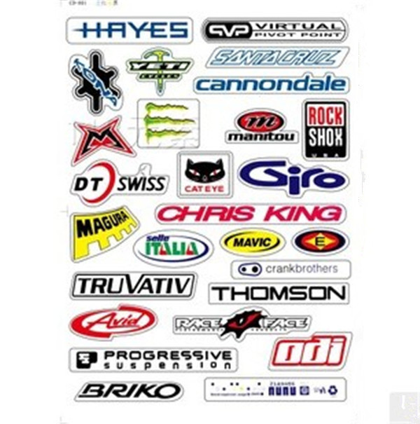 THOMSON SEAT POST  BICYCLES BIKE FRAME STICKER DECAL