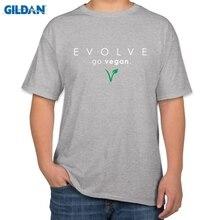 EVOLVE – Go Vegan – men's t-shirt