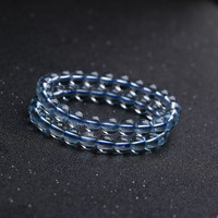 Authentic Blue Crystal Beaded Bracelets