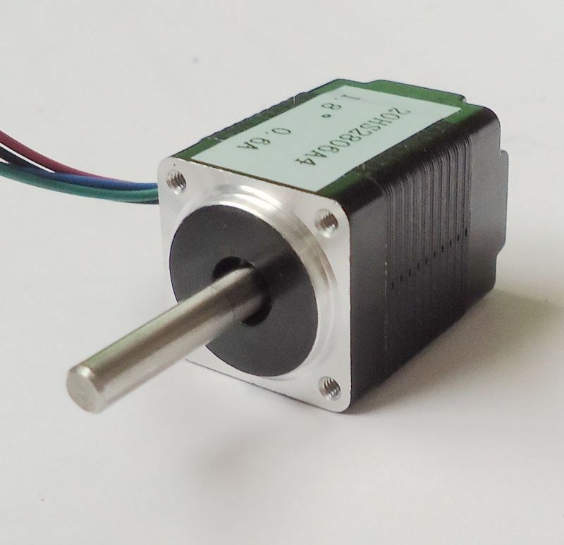 Free Shipping! 3pcs/lot 4-lead 1.8 degree NEMA 8 Stepper Motor with 1.8N.cm 2.5 oz-in Length 34mm CE ROHS CNC Kits