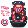 Cartoon Child Safety Seat Five Point Type Baby Car Seat Sitting Baby Seat for Baby At The Age of 0-12 Years