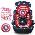 Tipo de Asiento de Coche de Bebé Asiento de Seguridad para Niños de dibujos animados de Cinco Puntos sentado Asiento de Bebé para el Bebé A La Edad de 0-12 años