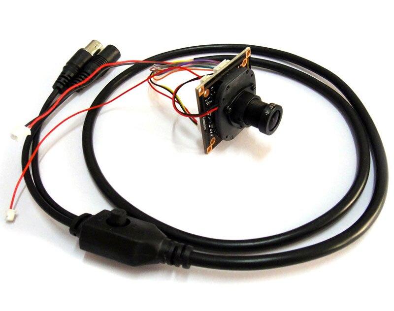 HD 4 en 1 1080 P AHD CVI TVI CVBS 1/2. 7 CCTV caméra module 2MP 1080 p CMOS de Sécurité PCB conseil FH8536E + 0230, 3mp objectif osd câble