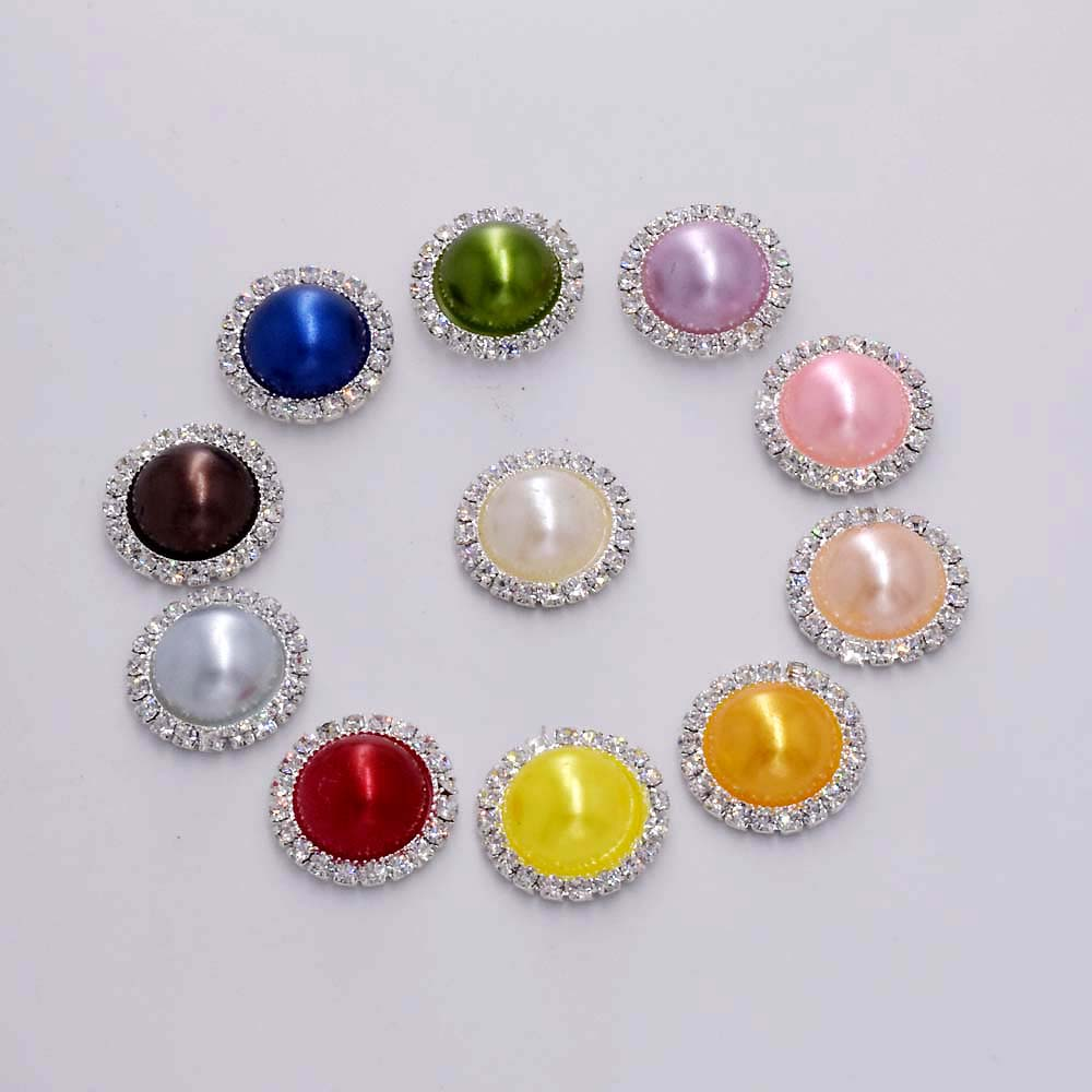 Buy rhinestone embellishment flatback buttons and get free shipping on  AliExpress.com 908e1a1486ef