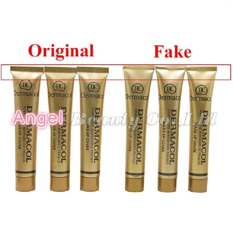 Dermacol  Make up Cover 30g Primer Concealer Base Professional Face Dermacol Makeup Foundation Contour Palette original Base Онихомикоз