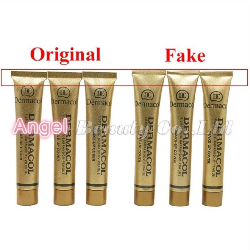 dermacol make-up koberec - 100% Original Dermacol Make up Cover 30g Base Dermacol Professional Primer Concealer Face Makeup Foundation Contour Palette Base