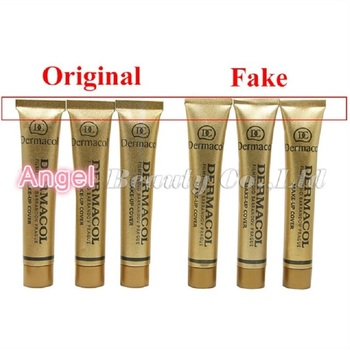 100% Original Dermacol Make up Cover 30g Base Dermacol Professional Primer Concealer Face Makeup Foundation Contour Palette Base