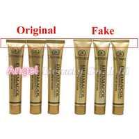 100% dermacol original cubierta de maquillaje 30g Base dermacol profesional Primer corrector cara maquillaje paleta de contorno de Base