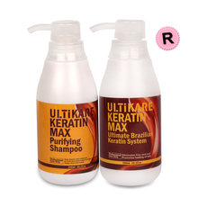 Superior Best Selling 300ml Purifying Shampoo+300ml Brazilian Keratin Straight Hair Treatment 12% Formalin For Resistant